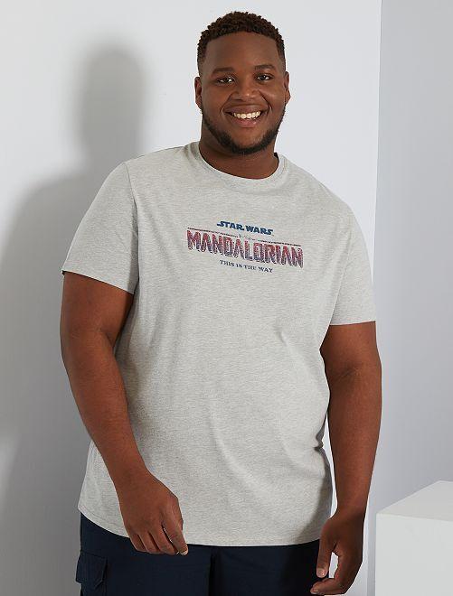 Camiseta 'The Mandalorian'                             GRIS