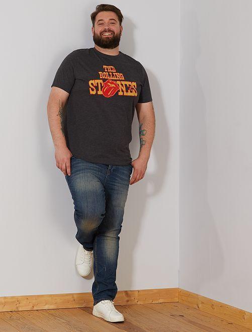 Camiseta 'The Rolling Stones'                             AZUL