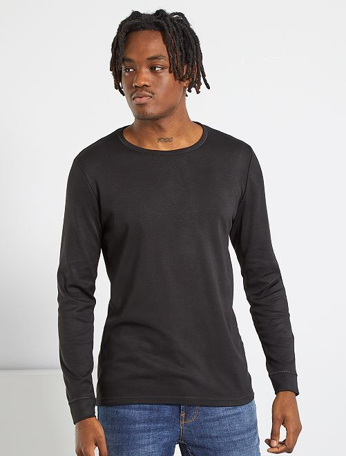 Camiseta Thermolactyl 'Damart'                                                                 negro