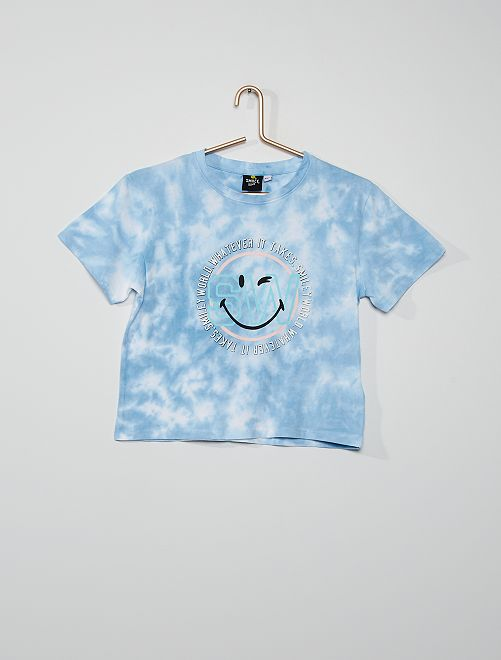 Camiseta tie-dye                                         AZUL