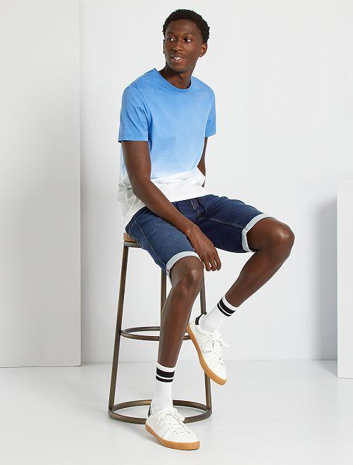 Camiseta tie-dye                                         BLANCO