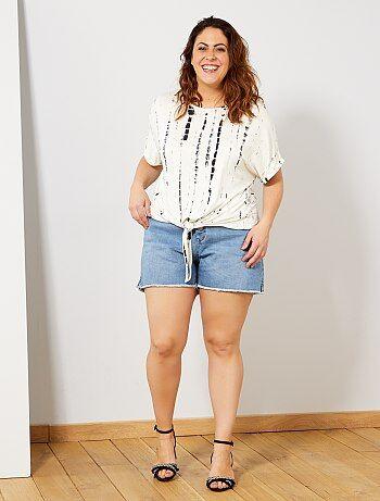 1b0c6a72d06 camisetas manga corta en tallas grandes de mujer baratas - moda ...