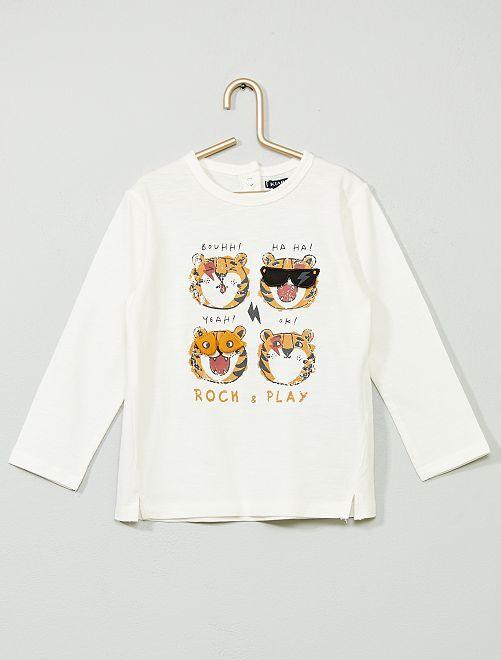 Camiseta 'Tigre'                                         BLANCO