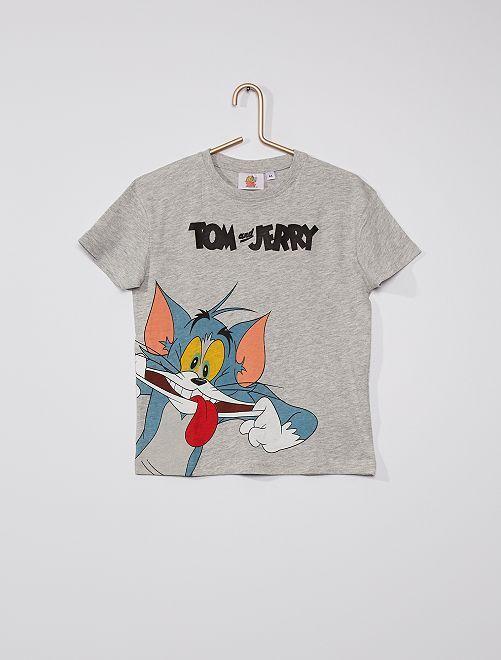 Camiseta 'Tom y Jerry'                             GRIS