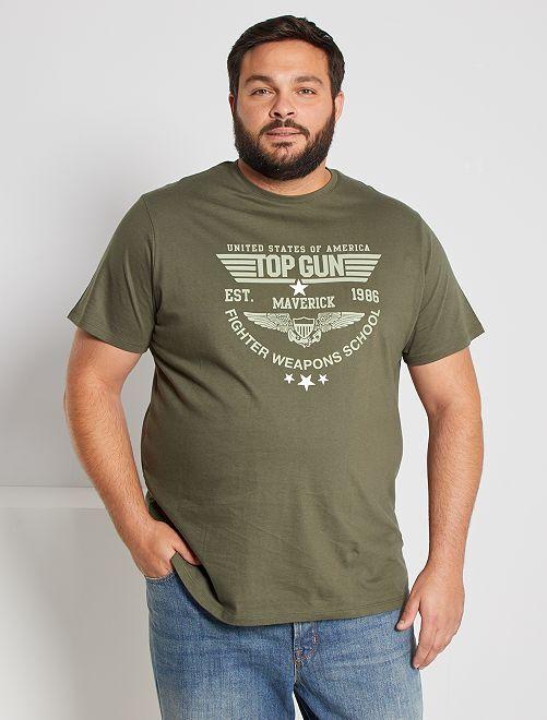 Camiseta 'Top Gun'                             KAKI