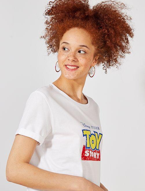 Camiseta 'Toy Story'                             BLANCO Mujer talla 34 a 48