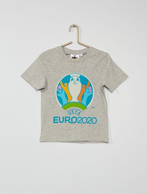 Camiseta 'UEFA EURO 2020'                                         gris chiné