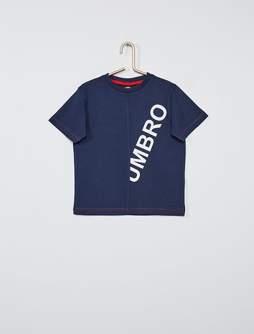 Camiseta 'Umbro' manga corta                             AZUL