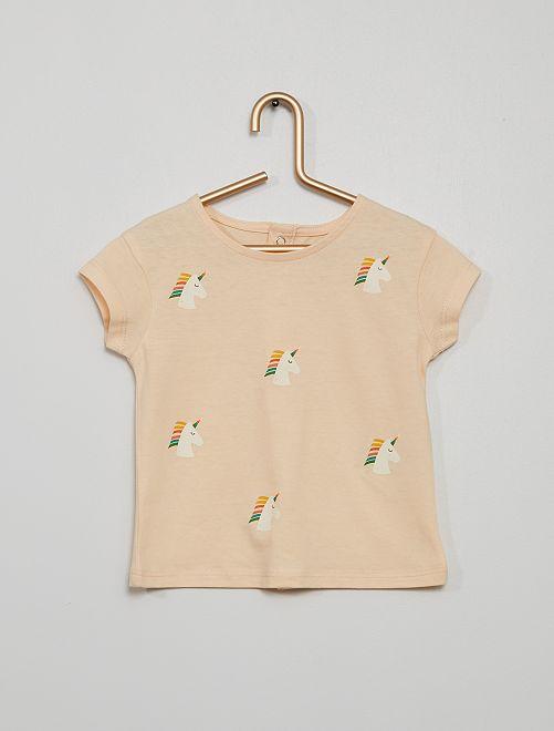Camiseta 'unicornio'                             ROSA