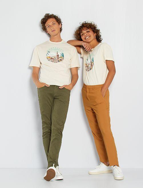 Camiseta unisex 'Marrakech'                                                     beige