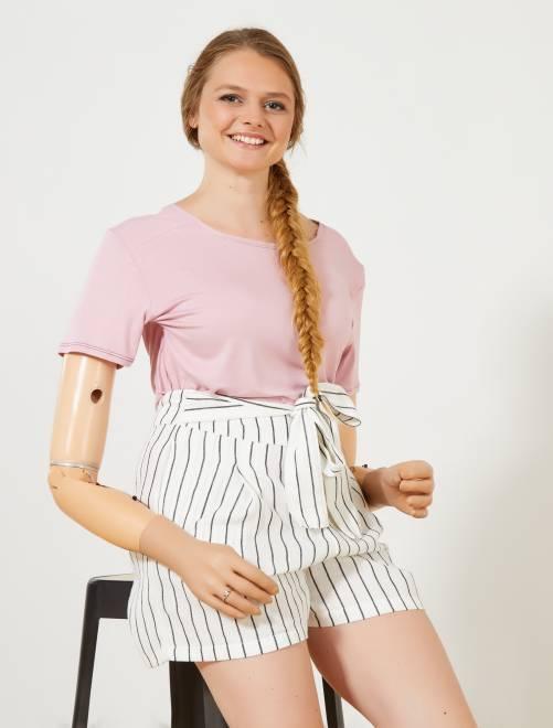 Camiseta vaporosa 'A&K Classics'                                                                 rosa Mujer talla 34 a 48
