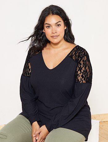Chaquetas negras mujer tallas grandes