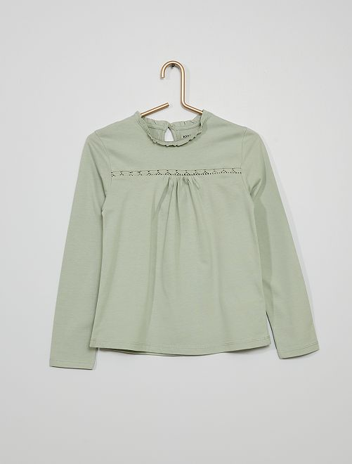 Camiseta                                                                 verde ceniciento