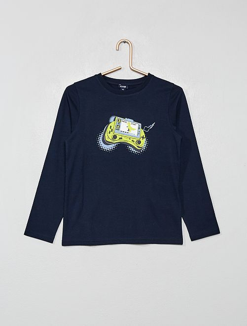 Camiseta 'videojuego'                                         AZUL