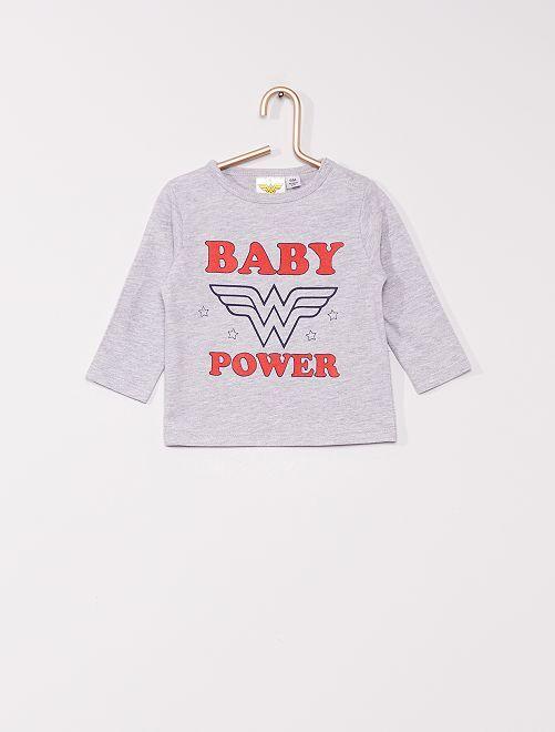 Camiseta 'Wonder Woman' de 'DC Comics'                             GRIS