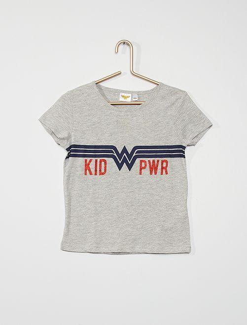Camiseta 'Wonder woman'                             GRIS