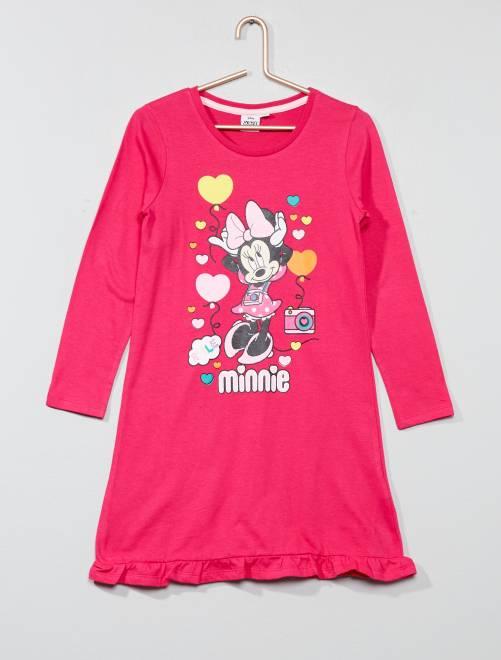 Camisón de 'Minnie Mouse' de 'Disney'                             fucsia Chica