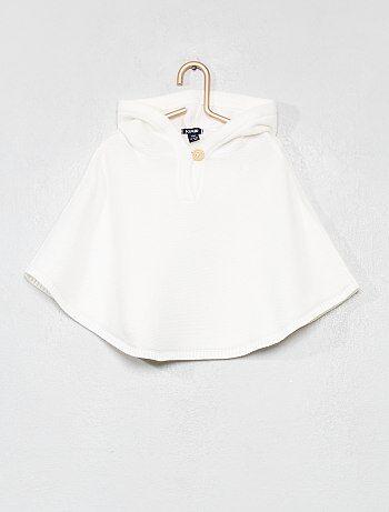 a63cfcf472c88 Niña 0-36 meses - Capa con capucha de algodón puro - Kiabi