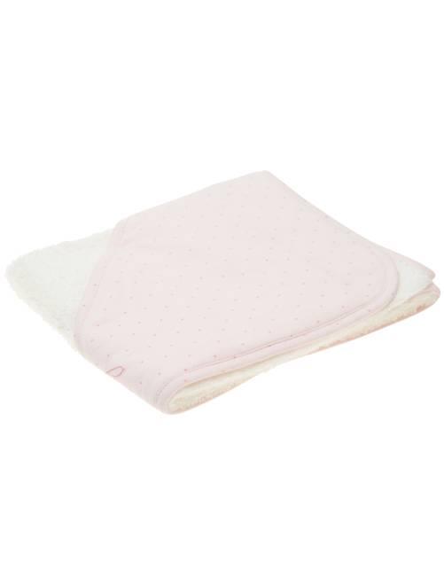 Capa de baño de rizo 'estrellas'                             rosa pastel