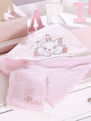 Capa de baño + manopla de rizo 'Marie' - Kiabi