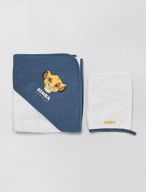 Capa de baño + manopla 'Simba'                                                                 simba