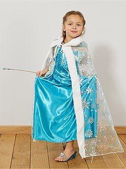 Niños Capa de princesa de los hielos