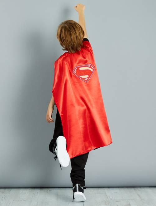 Capa reversible 2 en 1 'Batman' y 'Superman'                             rouge/noir