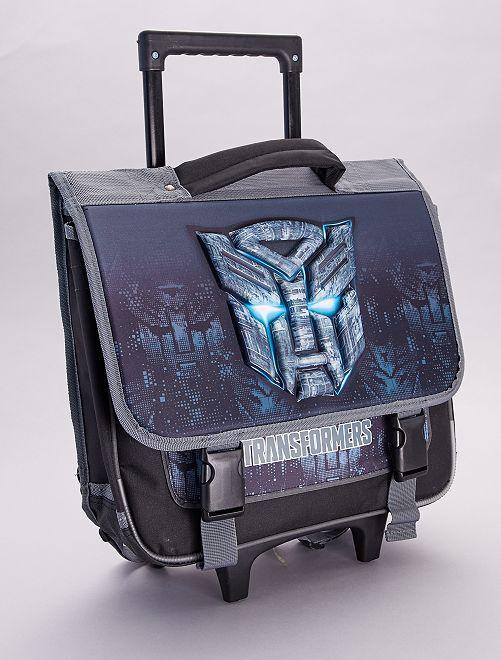 Cartera ruedas 'Transformers'                             negro