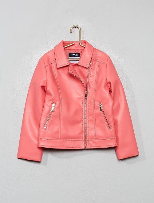 Cazadora sintética                                                                             rosa