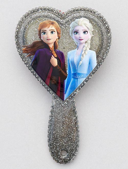 Cepillo corazón 'Frozen'                             plata