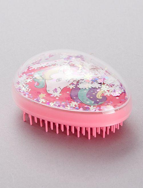 Cepillo para el pelo 'unicornio'                             rosa