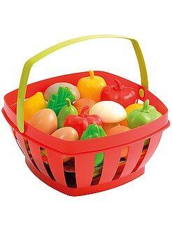 Cesta con frutas y verduras - Kiabi