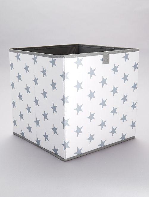Cesta de almacenaje 'estrellas'                             azul