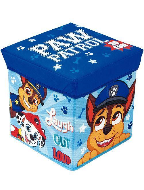 Cesta plegable de almacenaje 'La Patrulla Canina'                             azul