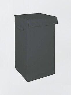 Accesorios - Cesta plegable recubierta para la ropa