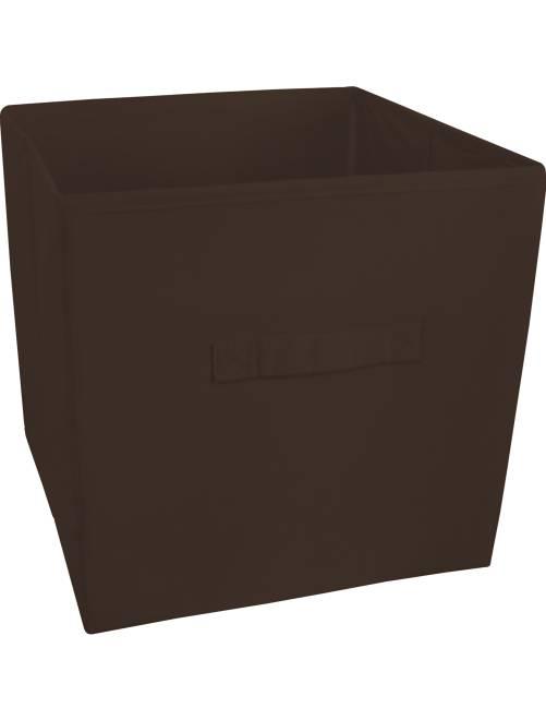Cesto plegable no tejido                             marrón