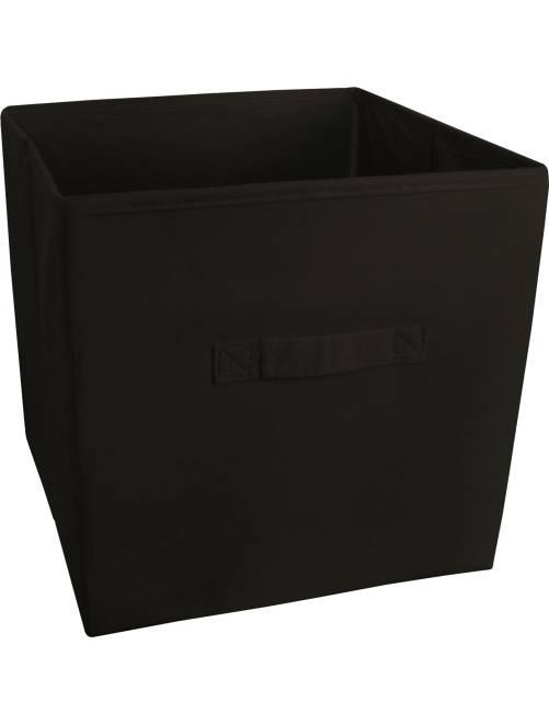 Cesto plegable no tejido                                                                             negro