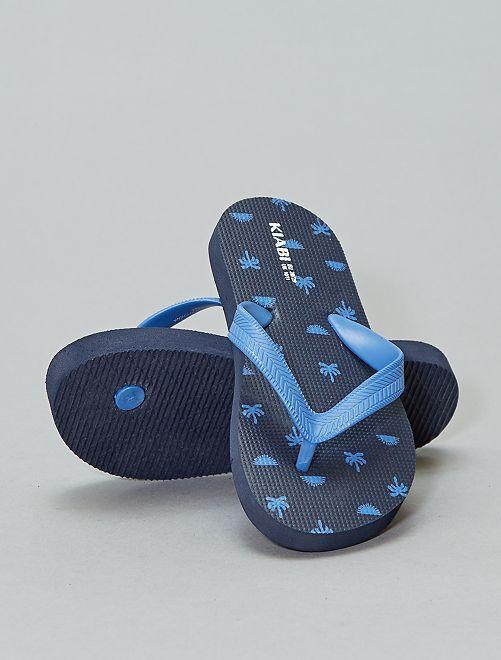 Chanclas estampadas                                                     KAKI Zapatos