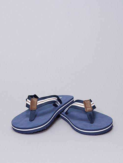Chanclas lisas                                         azul navy