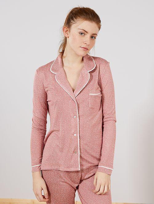 Chaqueta de pijama                                                                 ROSA Lencería de la s a la xxl