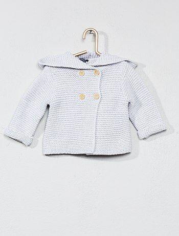 Niña 0-36 meses - Chaqueta de punto bobo de algodón orgánico - Kiabi
