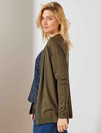 539765e15d35 Rebajas chaquetas de punto para Mujer | Kiabi