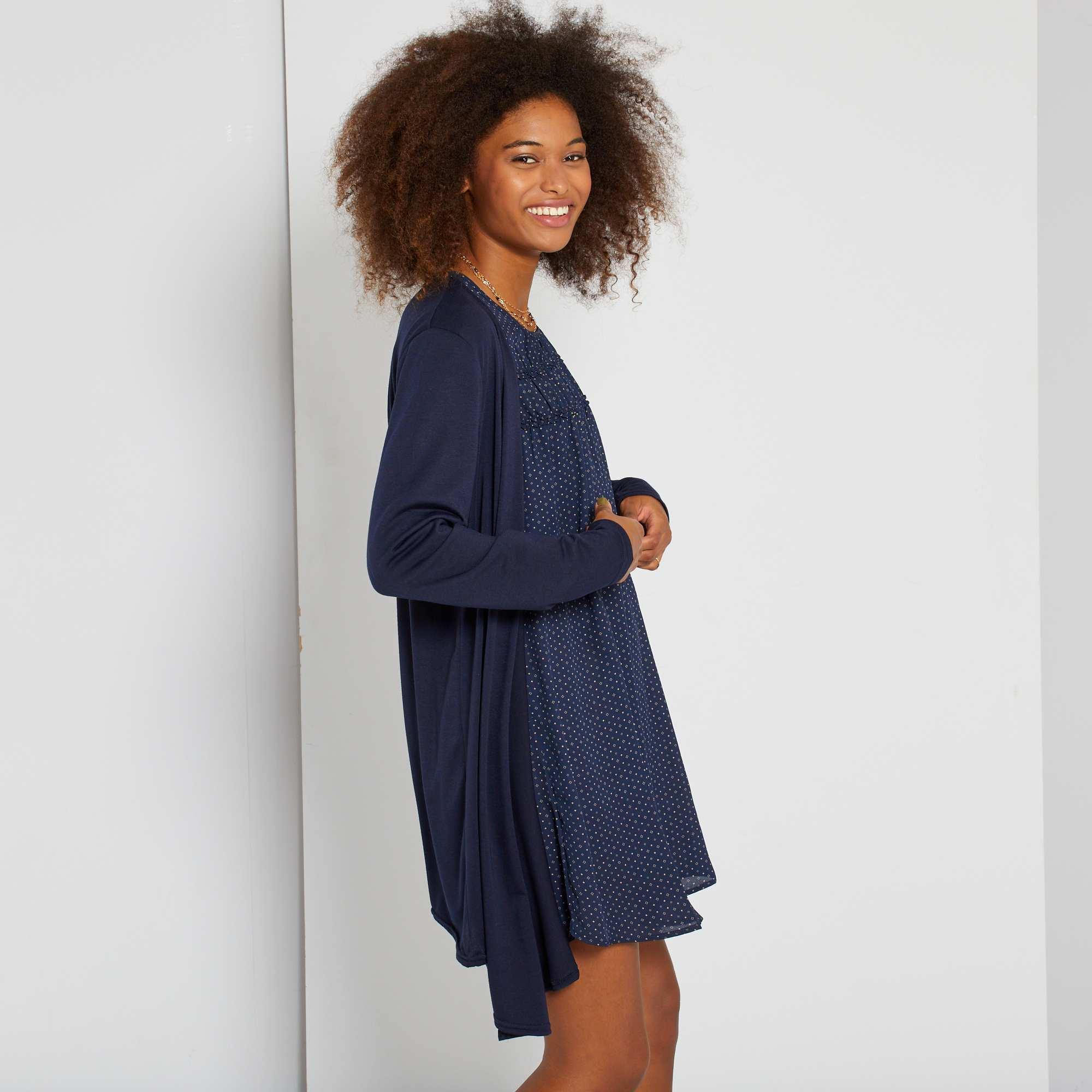 Excepcional Vestido De La Dama Azul Real Motivo - Colección de ...