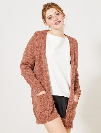 Mujer talla 34 to 48 - Chaqueta de punto tricotado - Kiabi
