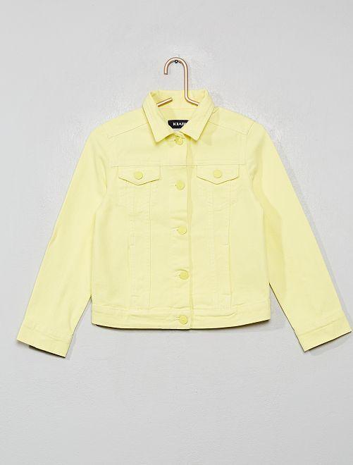 Chaqueta de sarga                                                                             amarillo limón