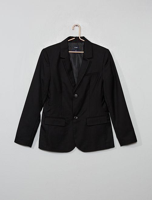 Chaqueta de traje                     negro