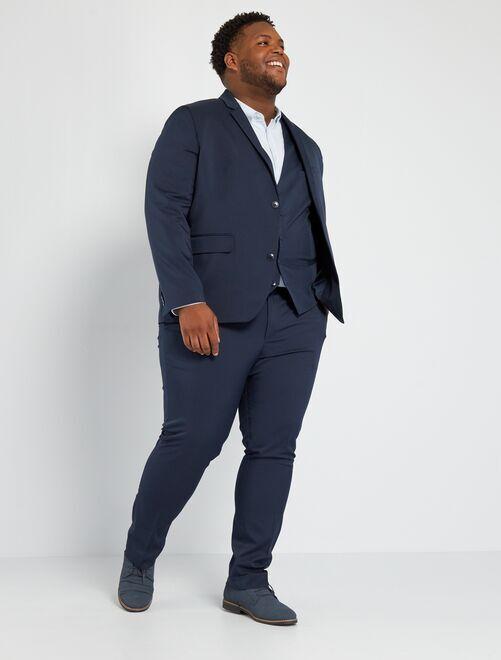 Chaqueta de traje slim                                                     azul