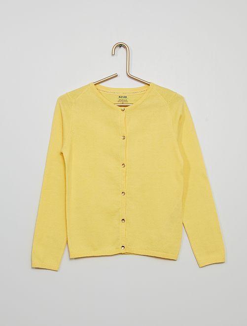 Chaqueta eco-concepción                                                                                                                                                                             amarillo suave