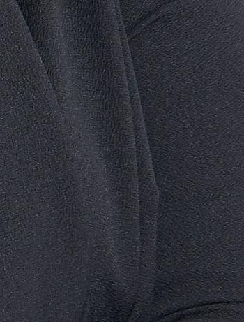 d9c1f20c52d ... Chaqueta estilo blazer con faldones de punto crepé vista 5. Chaqueta  estilo blazer con faldones de punto crepé negro Tallas grandes mujer