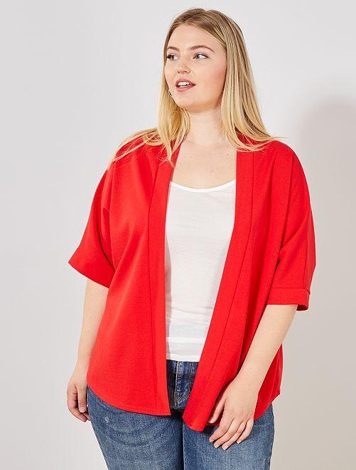 Chaqueta tipo kimono                                         rojo